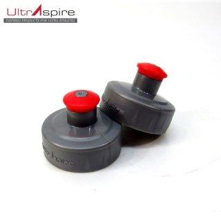 ウルトラスパイア UltrAspire SMALL PUSH PULL CAP ボトル取り替え用キャップ スモール 2個入り
