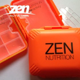ZEN NUTRITION ZENオリジナル 詰め替え用ケース Mサイズ  ZENの詰め替え用 携帯ケース