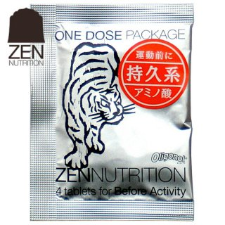 ZEN NUTRITION トラ Befor(トラ)4粒 持久系アミノ酸をスピード補給