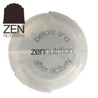 ZEN NUTRITION 詰め替えケースS  2種類のタブレットが約40粒ずつ入ります