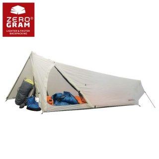ZEROGRAM ゼログラム ZERO1 Pathfinder Tent 前室一体型で悪天候に強いULソロテント