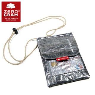 ZEROGRAM ゼログラム Cuben neck wallet キューベンファイバーのULウオレット
