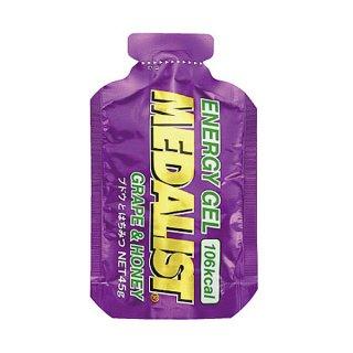 MEDALIST(メダリスト) エナジージェル ブドウとはちみつ 1個(45g) クエン酸入りエネルギー補給ジェル