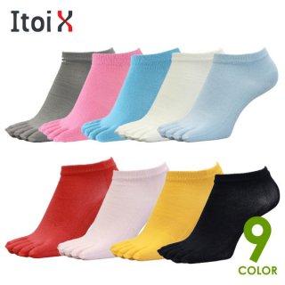 Itoi(イトイテックス) 5本指ランニングソックス ショート 悪路で差がつく吸湿速乾靴下
