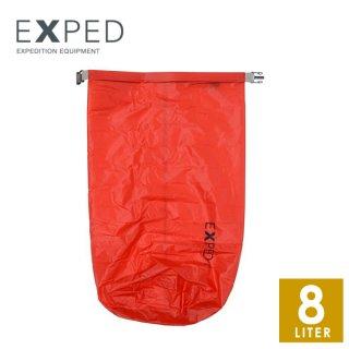 EXPED(エクスペド) Fold-Drybag UL red 8L/M