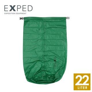 EXPED(エクスペド) Fold-Drybag UL emerald green 22L/XL
