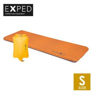 EXPED(エクスペド) SynMat UL S エア式の中綿入りスリーピングマット