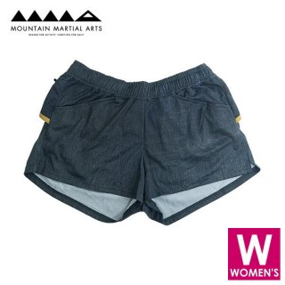 MMA マウンテンマーシャルアーツ W's Denim Run Shorts 60A レディース ショートパンツ