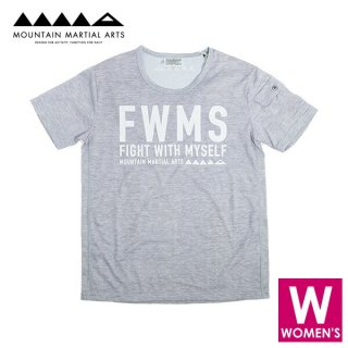 MMA マウンテンマーシャルアーツ FWMS Sweat Tee レディース 半袖シャツ