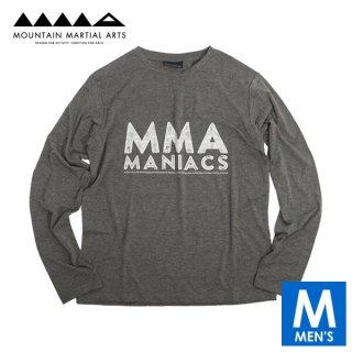 MMA マウンテンマーシャルアーツ MANIACS L/S Tee メンズ 長袖シャツ