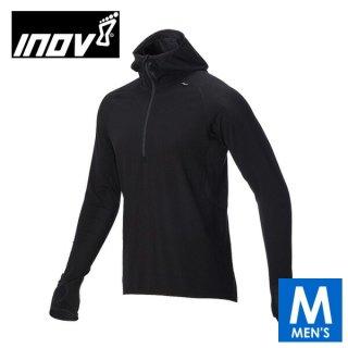 INOV8 イノヴェイト AT C MERINO LSZ M メンズ ハーフジップ フーディ 長袖シャツ