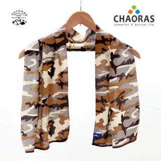 CHAORAS(チャオラス) スポーツ手ぬぐい ウッドカモ/デザート