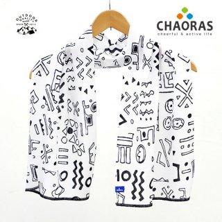 CHAORAS(チャオラス) スポーツ手ぬぐい クバ/ホワイト
