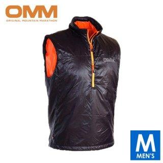 OMM オリジナルマウンテンマラソン ROTER VEST メンズ ハーフジップ ノースリーブ ベスト