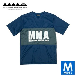 MMA マウンテンマーシャルアーツ 2tone Panel Tee メンズ 半袖Tシャツ
