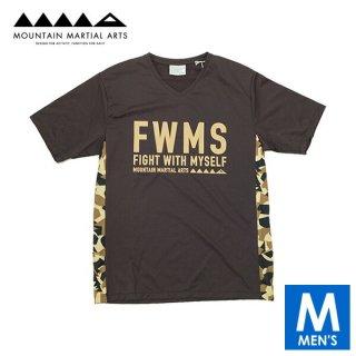 MMA マウンテンマーシャルアーツ Active Side Pocket V-neck メンズ Vネック半袖Tシャツ