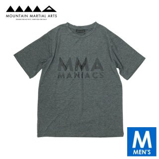 MMA マウンテンマーシャルアーツ MANIACS Tee メンズ 半袖Tシャツ