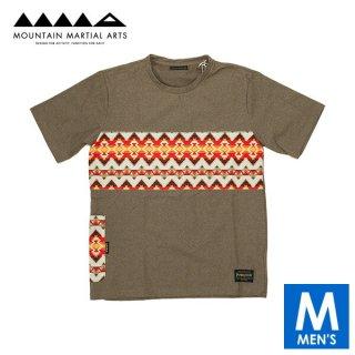 MMA マウンテンマーシャルアーツ Pendleton Panel Pocket Tee メンズ 半袖Tシャツ