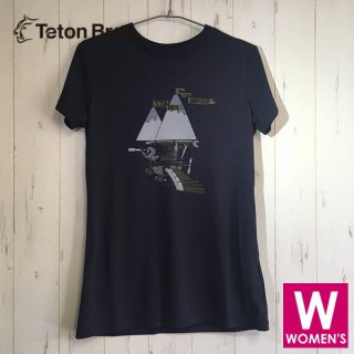 Teton Bros ティートンブロス 10th Annyversary Tee レディース 半袖Tシャツ