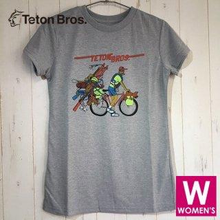 Teton Bros ティートンブロス Fun Seeker Tee レディース 半袖Tシャツ