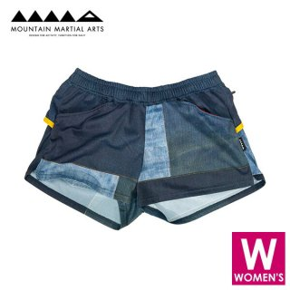 MMA マウンテンマーシャルアーツ Women's PW Denim Run Shorts レディース ショートパンツ