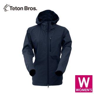 Teton Bros ティートンブロス WS Long Trail Hoody レディース フルジップ フーディージャケット