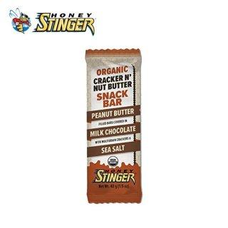 【1個】HONEY STINGER ハニースティンガー ORGANIC CRACKER BAR ピーナッツバター/ミルクチョコレート