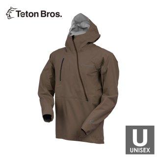 Teton Bros ティートンブロス Breath Jacket メンズ・レディース ハーフジップ フーディージャケット