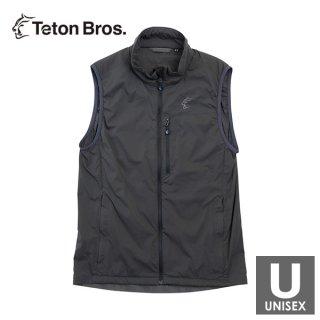 Teton Bros ティートンブロス Scrambling Alpha Vest メンズ・レディース フルジップ ノースリーブ ベスト