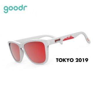 goodr(グダー)  【Limited デザイン】TOKYO2019 スポーツサングラス