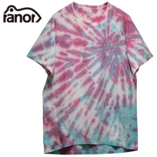 Ranor ラナー RADIATION TIE DYEING T-SHIRTS