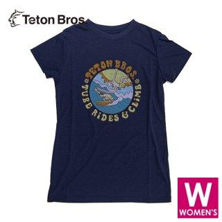 Teton Bros ティートンブロス WS TB Surf and Climb Tee レディース 半袖Tシャツ