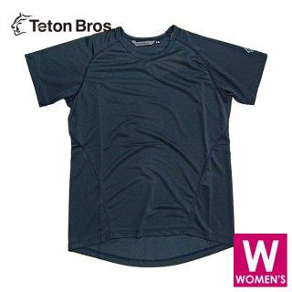 Teton Bros ティートンブロス WS PPP S/S レディース ドライ半袖Tシャツ