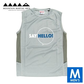 MMA マウンテンマーシャルアーツ Say Hello! Sleeve-less メンズ ドライ ノースリーブシャツ
