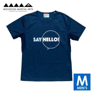 MMA マウンテンマーシャルアーツ Say Hello! Tee メンズ ドライ半袖Tシャツ