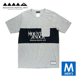 MMA マウンテンマーシャルアーツ MMA×Hunger Knock Originals Panel Tee メンズ ドライ半袖Tシャツ