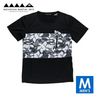 MMA マウンテンマーシャルアーツ Botanical Panel Pocket Tee メンズ ドライ半袖Tシャツ