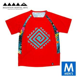 MMA マウンテンマーシャルアーツ MMA×ERDORESO Flower Tee メンズ ドライ半袖Tシャツ