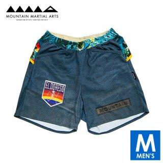MMA マウンテンマーシャルアーツ MMA×ERDORESO Denim Run Pants メンズ ドライ ショートパンツ
