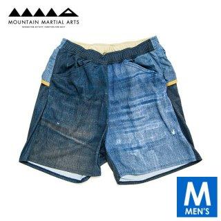 MMA マウンテンマーシャルアーツ Crazy Denim Run Pants メンズ ドライ ショートパンツ