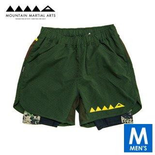 MMA マウンテンマーシャルアーツ SW Air Light Side Slit Run Pants メンズ インナー付きドライ ショートパンツ