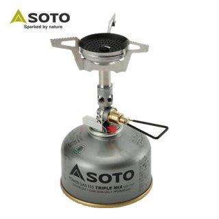 SOTO(ソト) マイクロレギュレーターストーブ ウインドマスター SOD-310 独自のバーナーヘッド構造とマイク
