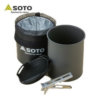 SOTO(ソト) サーモライト SOD-522 簡易的なクッカーとしても使用できるマグセット