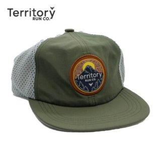 TERRITORY RUN CO. GORGE CAP メンズ・レディース ランニング メッシュキャップ