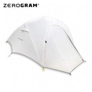 ZEROGRAM ゼログラム PCT UL2 MF / LIGHTGRAY  2名用ULダブルウオールテント
