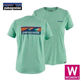 patagonia パタゴニア ウィメンズ キャプリーン・デイリー・グラフィック・Tシャツ レディース ドライ半袖T