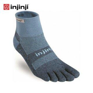 injinji(インジンジ) トレイル ミッドウェイト ミニクルー ランニング 5本指ソックス