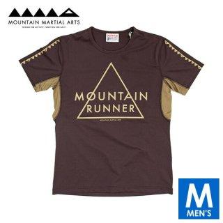 MMA マウンテンマーシャルアーツ MMASW Active Run Tee メンズ ドライ半袖Tシャツ