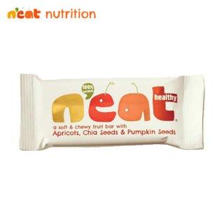 n'eat(ニート) ナチュラルフルーツーバー アプリコット チアシード&パンプキンシード