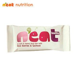 n'eat(ニート) ナチュラルフルーツエナジーバー レッドベリー&キヌア